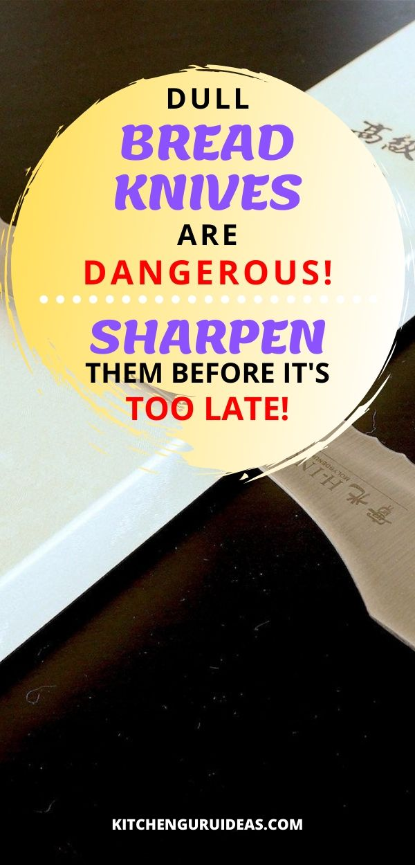 Can You Sharpen A Bread Knife?