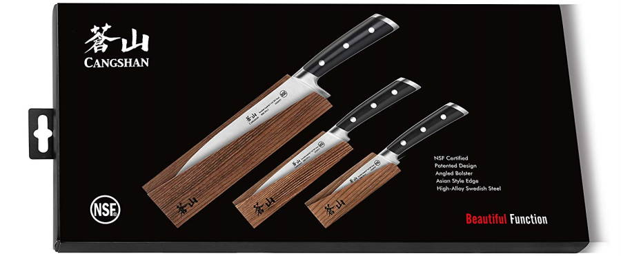 Cangshan TS Series knife set 14C28N