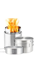 Solo Stove Campfire Outdoor Kitchen Kit Thumbnail
