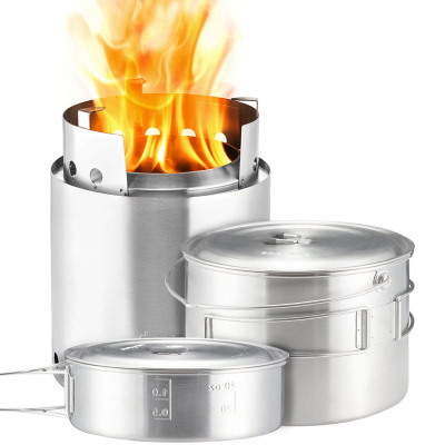Solo Stove Campfire Outdoor Kitchen Kit