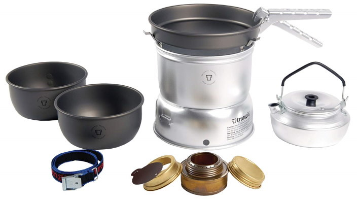Ultralight Trangia 27-8 Hard Anodized Stove Kit