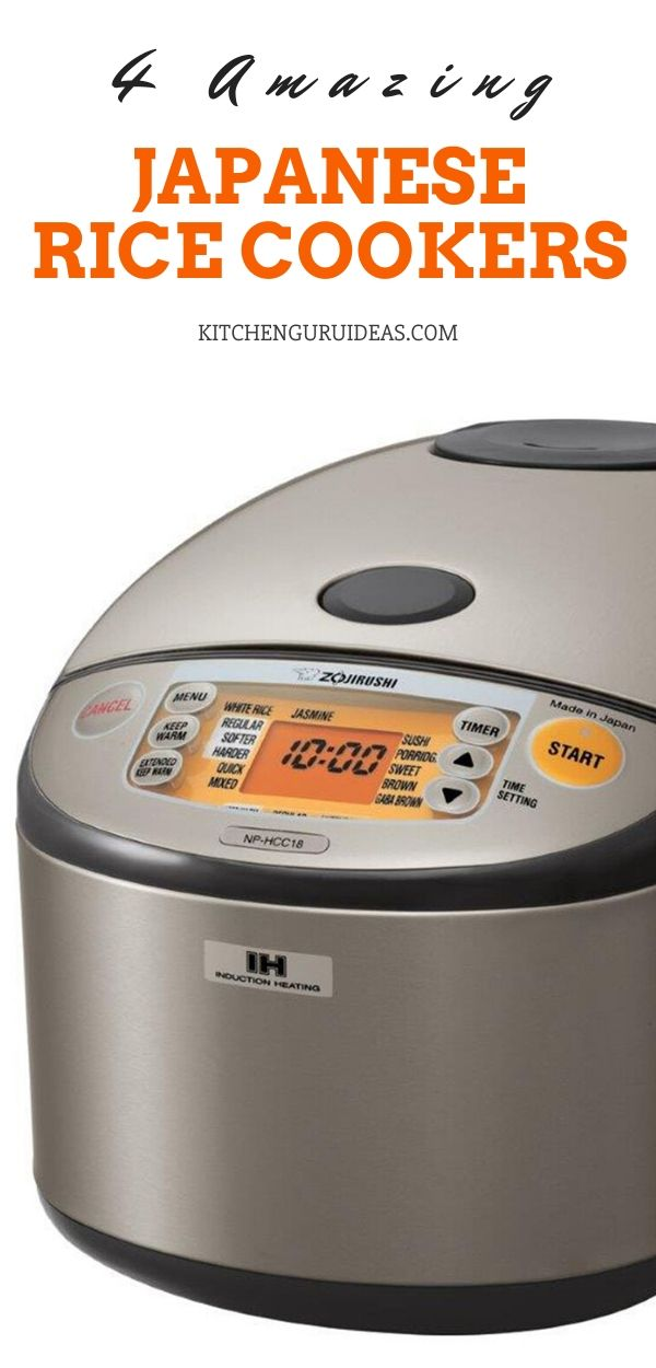 4 Best Japanese Rice Cookers To Have In Your Kitchen
