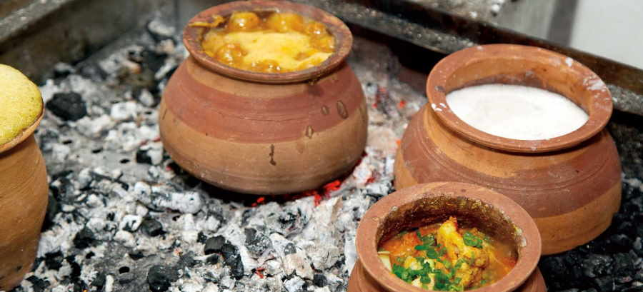 cooking in clay cookware