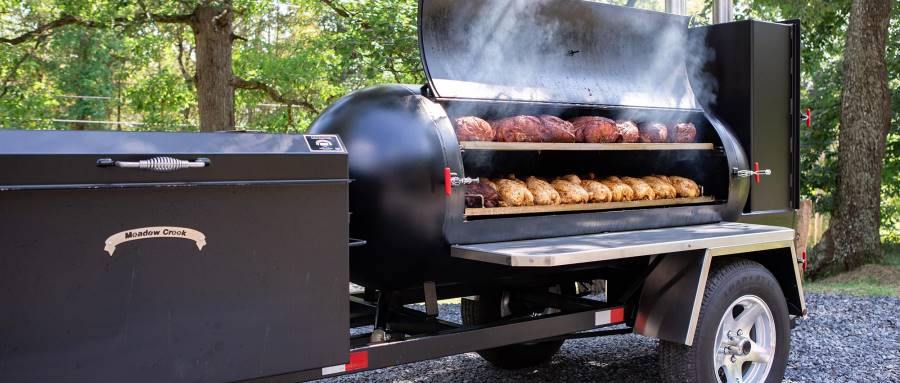 giant smoker grill