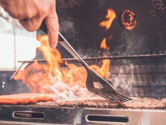 cooking on char-broil gas grill