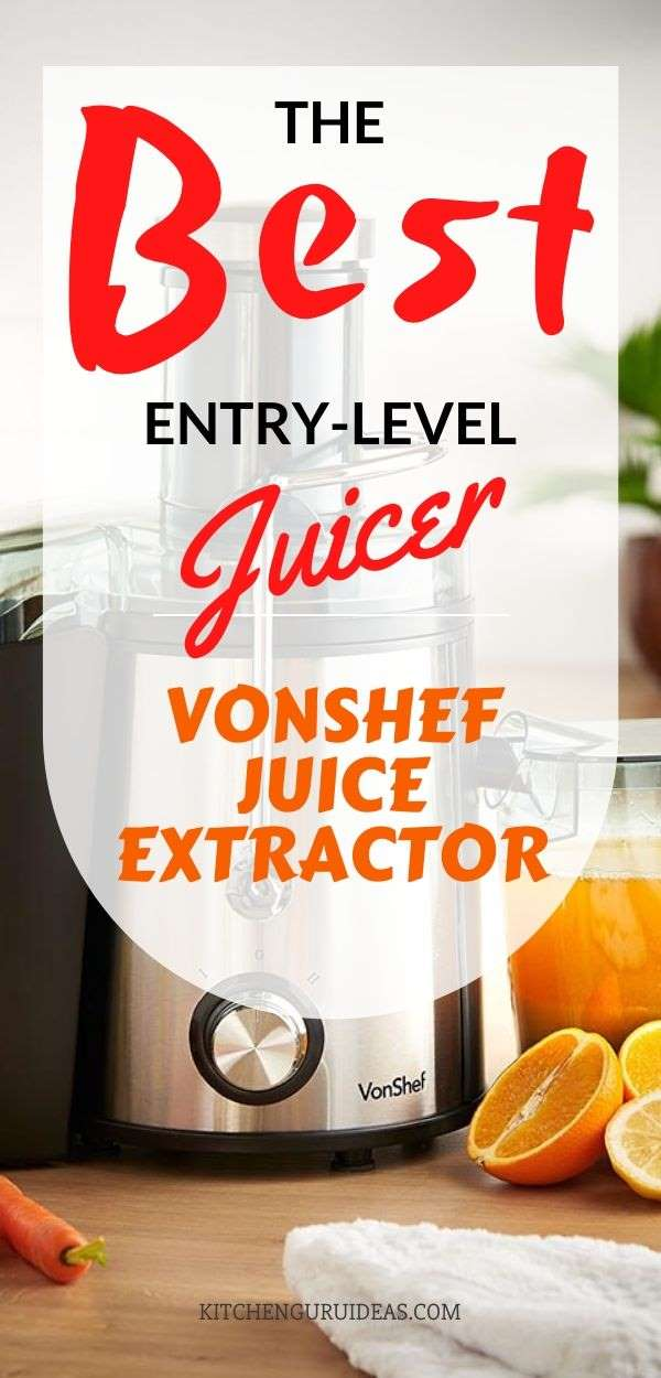 vonshef juicer review