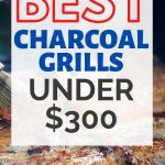 best charcoal grill under 300
