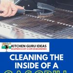 how to clean the inside of a gas grill