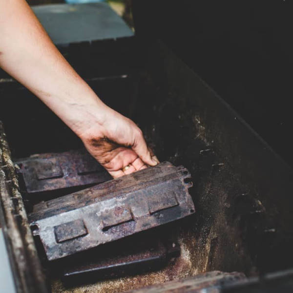 removing gas grill heat shield