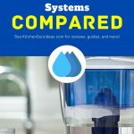 water filter comparison chart