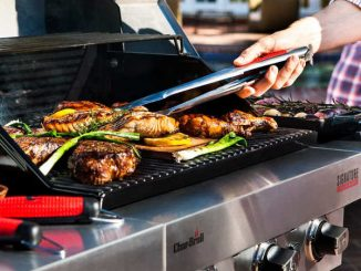 cooking on infrared grill