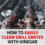 how to clean bbq grill grates-with-vinegar