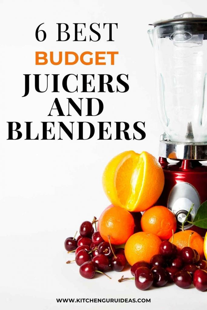 best juicers and best blenders