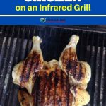 cooking chicken on the infrared grill