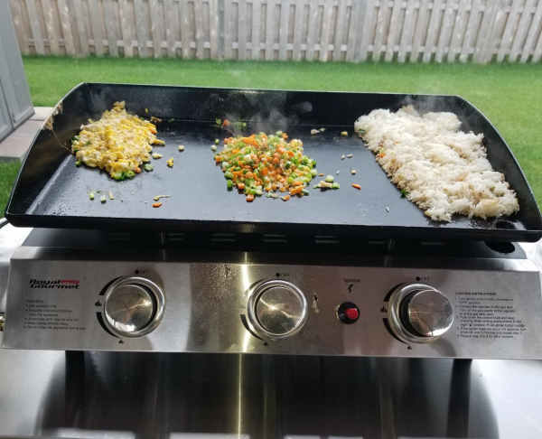 cooking on royal gourmet PD1300