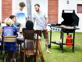 gas grill BBQ summer party