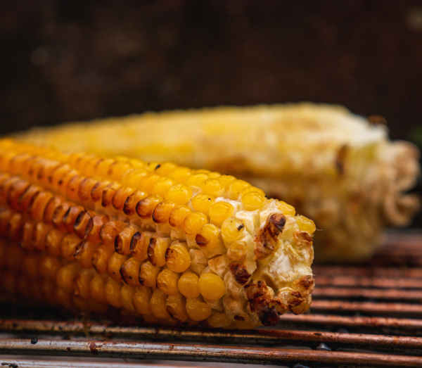 grilled whole corn