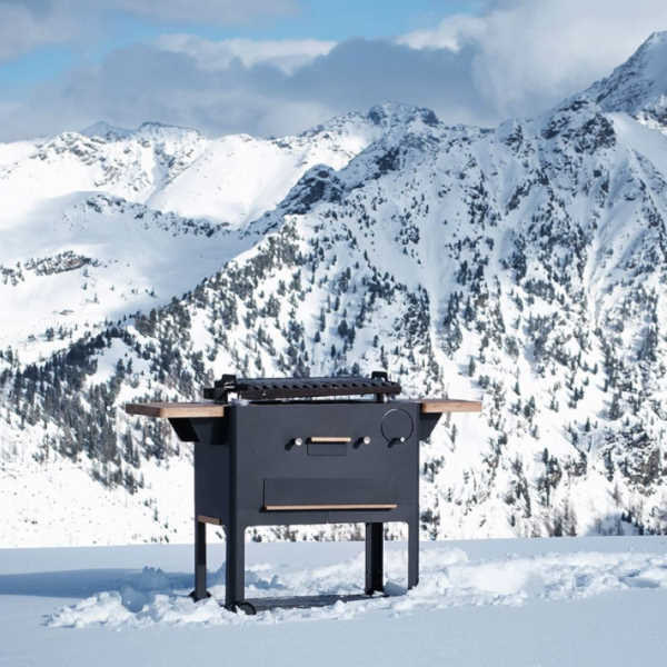 grilling in the mountains