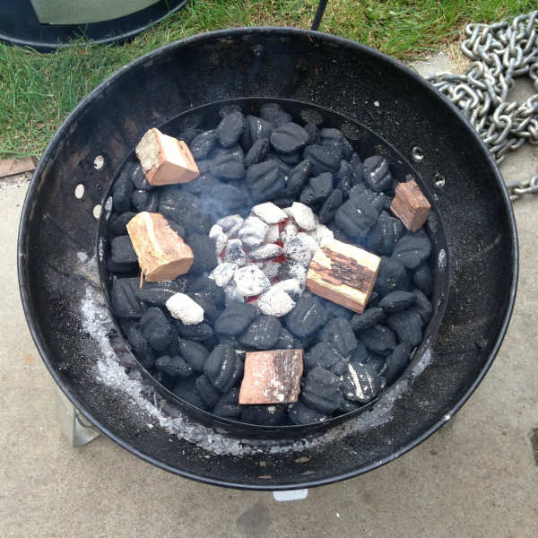 minion method charcoal grill