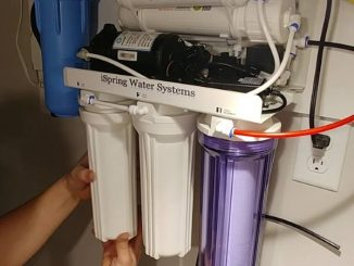 well water reverse osmosis water filter