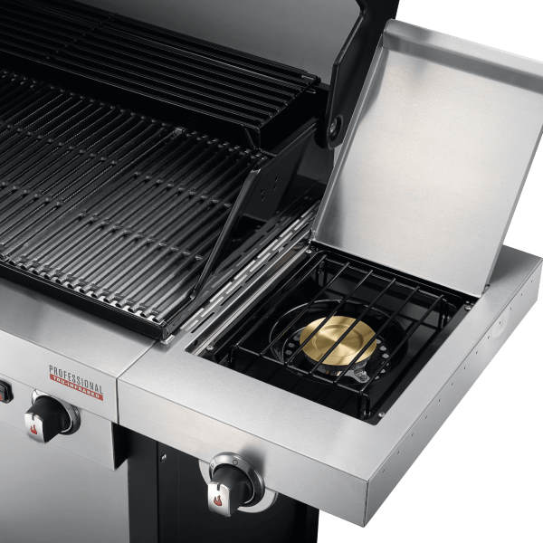 infrared grill side burner