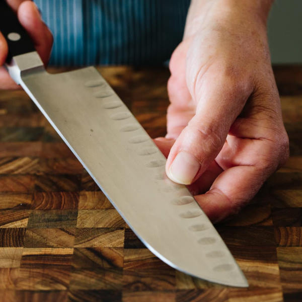 sharpness test knife