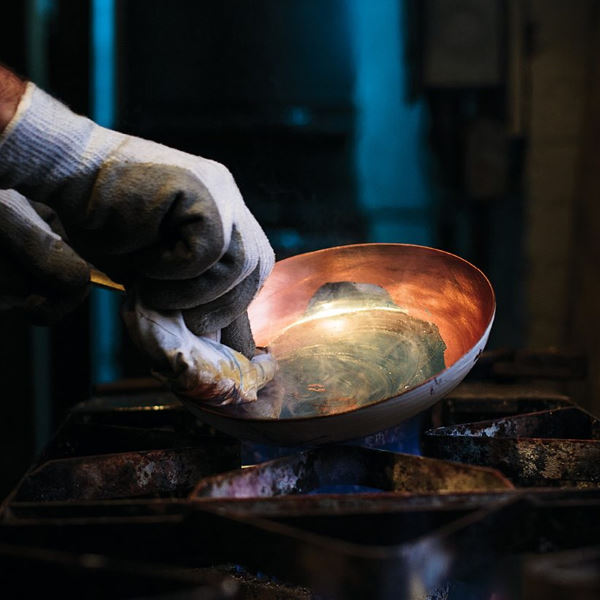 creating copper cookware