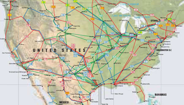 united states pipelines map