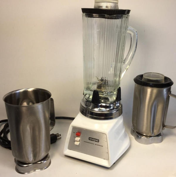 glass blender with metal pitchers