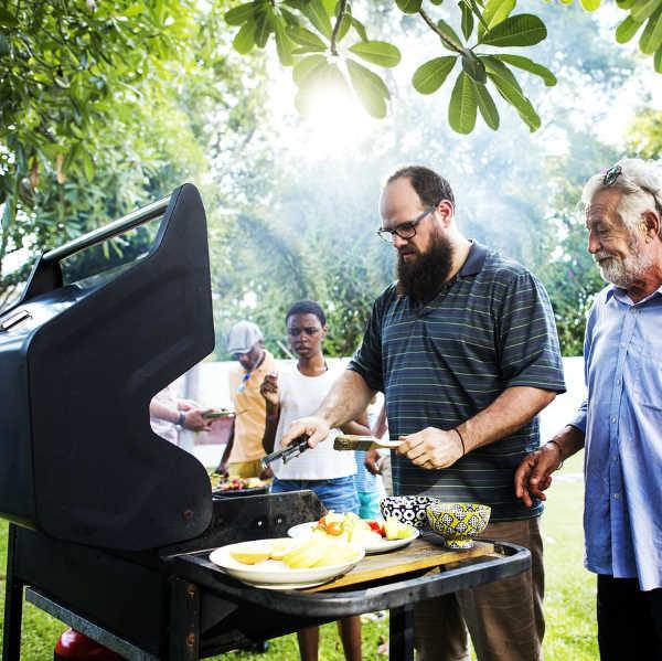 backyard BBQ party