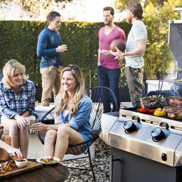 infrared grill BBQ party